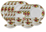 Royal Albert Old Country Roses, 20-Piece Service for 4
