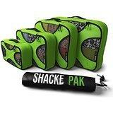 Shacke Pak 4 Set Packing Cubes with Laundry Bag