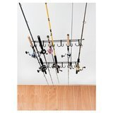 Rack'Em Overhead 12-Rod Fishing Rod Rack