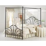 Hillsdale Furniture Dover Textured Black Queen Canopy Bed