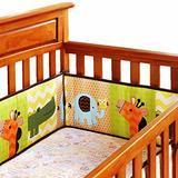Amomo Breathable Crib Bumper Pads