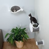 Trixie Pet Wall-Mounted Cat Lounging Suite