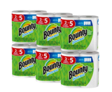 Bounty Quick-Size Paper Towels, 12 Family Rolls