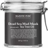 Majestic Pure Cosmeceuticals Dead Sea Mud Mask with Tea Tree Oil