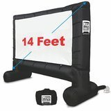EasyGoProducts 14' Inflatable Mega Movie Screen