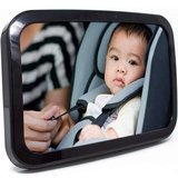Baby & Mom Back Seat Baby Mirror - Rear View Baby Car Seat Mirror
