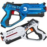 Best Choice Products  Kids' Laser Tag Set w/ Multiplayer Mode, 2 Pack