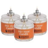 Emergency Essentials 115 Hour Plus Emergency Candle Clear Mist, 6-Pack