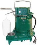 Zoeller Mighty-Mate Submersible Sump Pump, 1/3 Hp