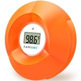 Famidoc Floating Toy Bath Tub Thermometers, Flower