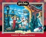 New York Puzzle Company Harry Potter Three Broomsticks, 500 Pieces