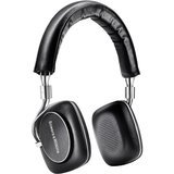 Bowers & Wilkins P5 Series 2 On Ear Headphones with HiFi Drivers, Wired, Black