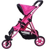 Precious Toys Jogger Hot Pink Doll Stroller