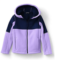 Lands' End Kids Bonded Fleece Jacket