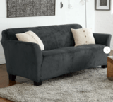 Latitude Run Velvet Plush Sofa Slipcover