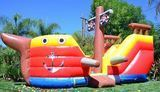JumpOrange Pirate Ship Inflatable Bouncer
