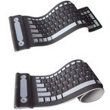 AccessGood Wireless Flexible Silicone Keyboard