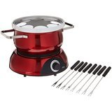 Trudeau Electric 84 oz Scarlet Fondue Pot