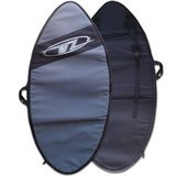 "Wave Zone Skimboards Backpack Style Bag, Silver, 46"" or 53"""