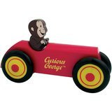 Schylling Curious George Wooden Car